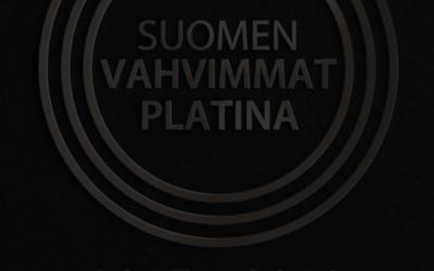 Avominnelle on myönnetty Suomen VahvimmatPlatina-erikoissertifikaatti