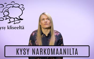 kysy kliseeltä: Kysy narkomaanilta – Hannele Kejosen haastattelu